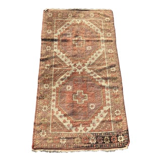 "Vintage Turkish Anatolian Vivid Colored Rug - 2'6""x4'8"""
