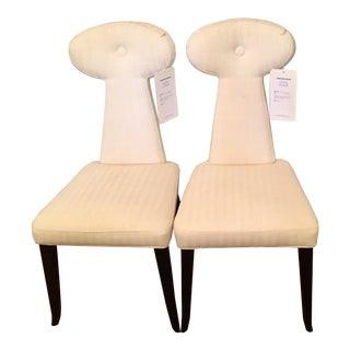 Jonathan Adler Vera Chairs - a Pair