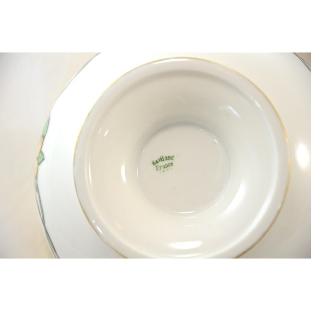 Haviland Hand Painted Bowl For Sale In Chicago - Image 6 of 7