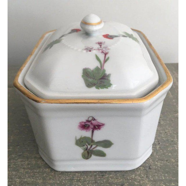 French Vintage Louis Lourioux French Porcelain Covered Box For Sale - Image 3 of 9