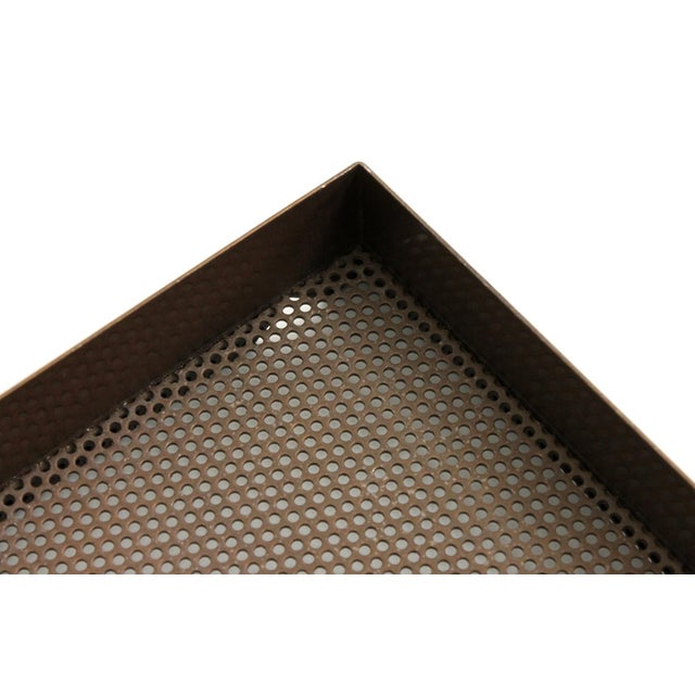 Architectural Bronze Mesh Letter Tray For Sale - Image 12 of 13