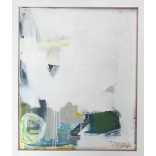 """All the Way Down"", Sarah Trundle, Contemporary Framed Painting For Sale"