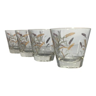 Mid-Century Rocks Style Glassware - Set of 4
