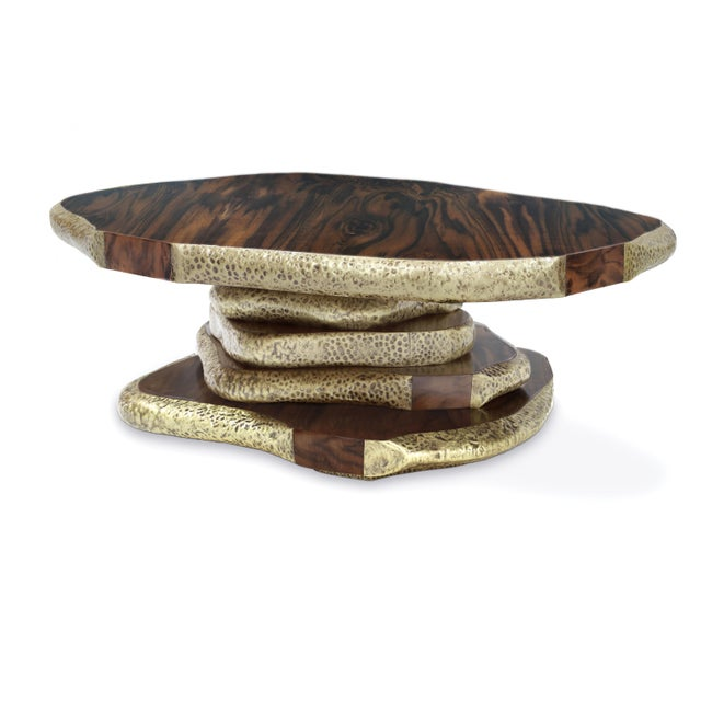 The pyramid of stones on the shore of Lake Baikal, known as Latza, inspired our designers to create LATZA Center Table....