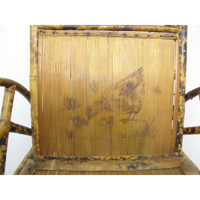 Early 20th Century Vintage Chinese Bamboo Chair For Sale - Image 5 of 6