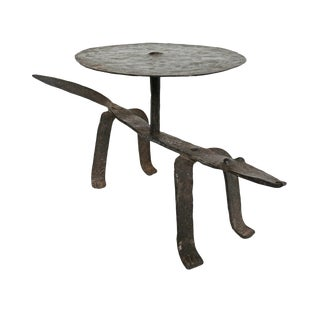 Dogon Iron Lizard Stool