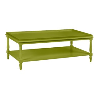 Casa Cosima Revere Cocktail Table, Dark Celery For Sale