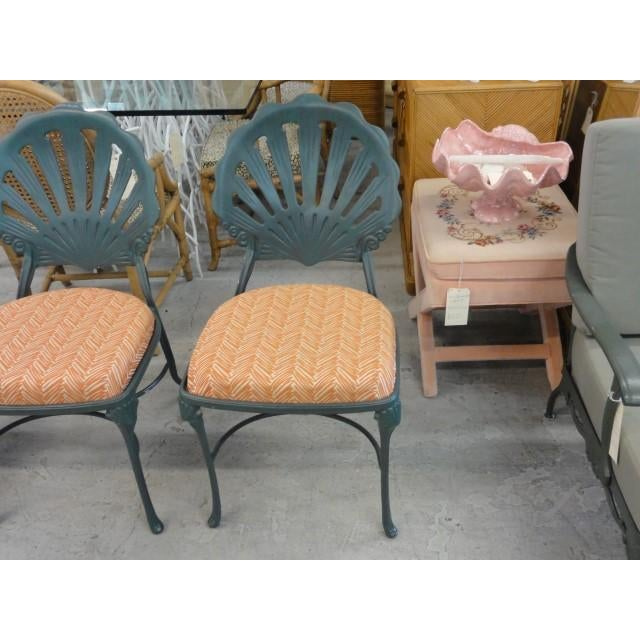 Vintage Shell Back Chairs - Set of 6 - Image 7 of 11