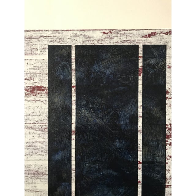 """Brandon Woods """"Ophelia"""" Contemporary Abstract Painting For Sale - Image 9 of 10"""