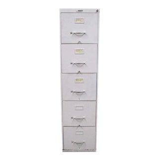 Standard Metal 5-Drawer File Cabinet