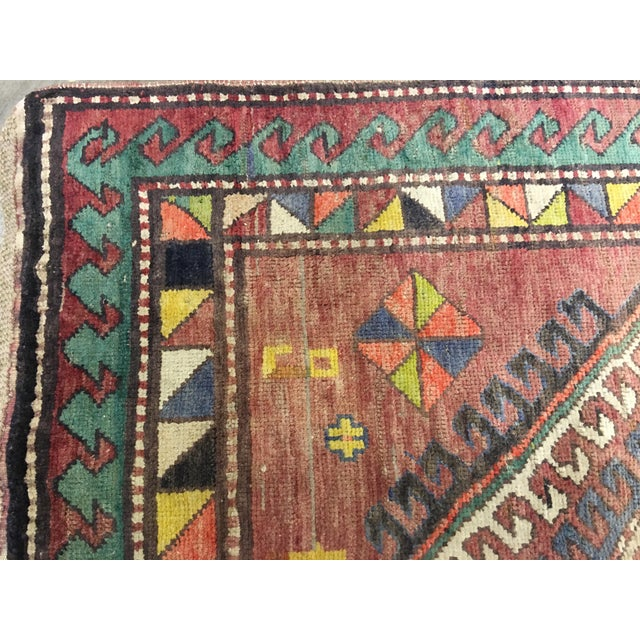 "Vintage Bellwether Rugs Turkish Oushak Rug - 5' x 9'3"" - Image 8 of 10"