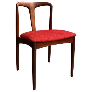 "Vintage Mid Century Danish Modern Teak ""Juliane"" Chair For Sale"