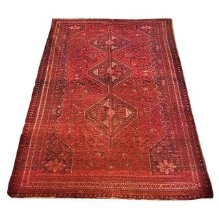 Vintage Persian Qashqa'i Carpet