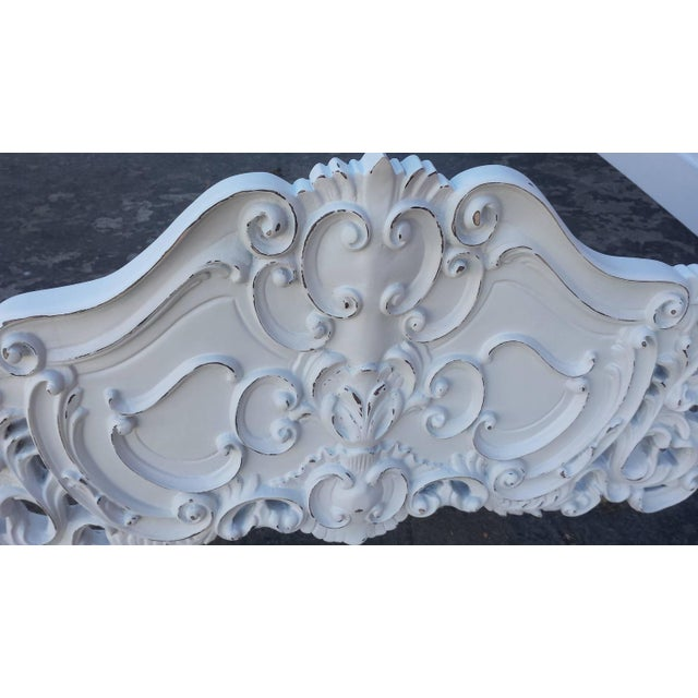 French Louis XV Style Bed Frame - Image 4 of 8