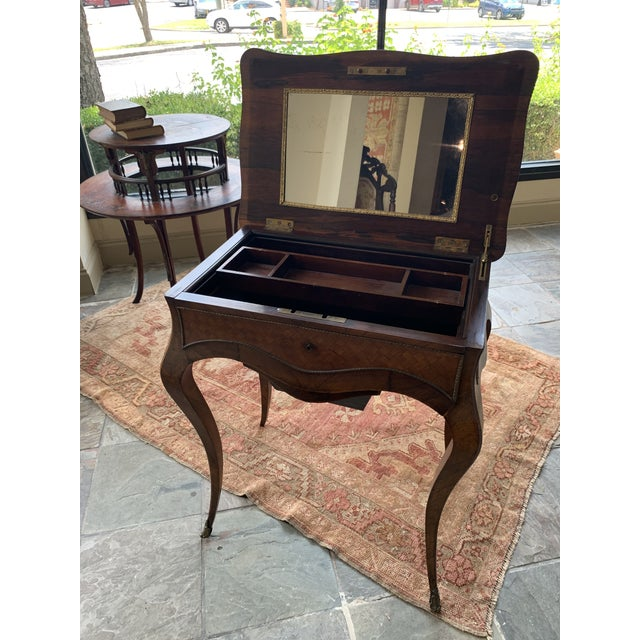 French 19th Century French Louis XV Style Vanity For Sale - Image 3 of 13