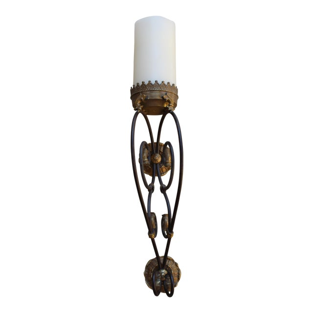 Gold Candlelight Wall Sconce - Image 1 of 4