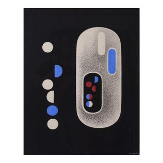 Richard Filipowski (Canadian, 1923-2008) Particle Red, 1948 For Sale
