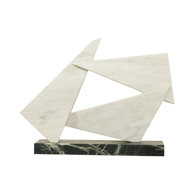 Richard H. Bailey Geometric Marble Sculpture For Sale - Image 13 of 13