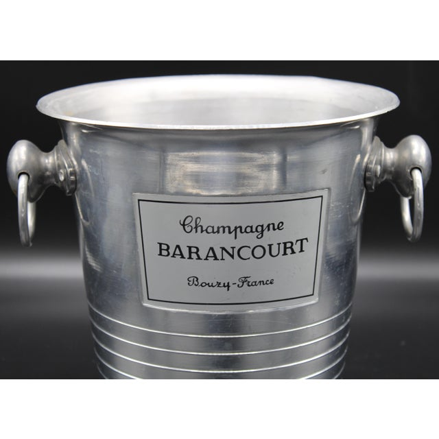 Vintage French Barancourt Champagne Ice Bucket For Sale - Image 10 of 13