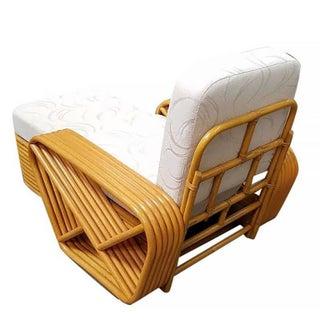 Paul Frankl Style Pretzel Rattan Chaise Lounge Preview