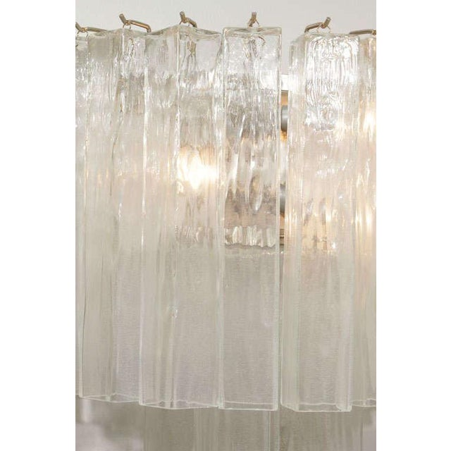 Murano Waterfall Sconces - A Pair For Sale - Image 11 of 12