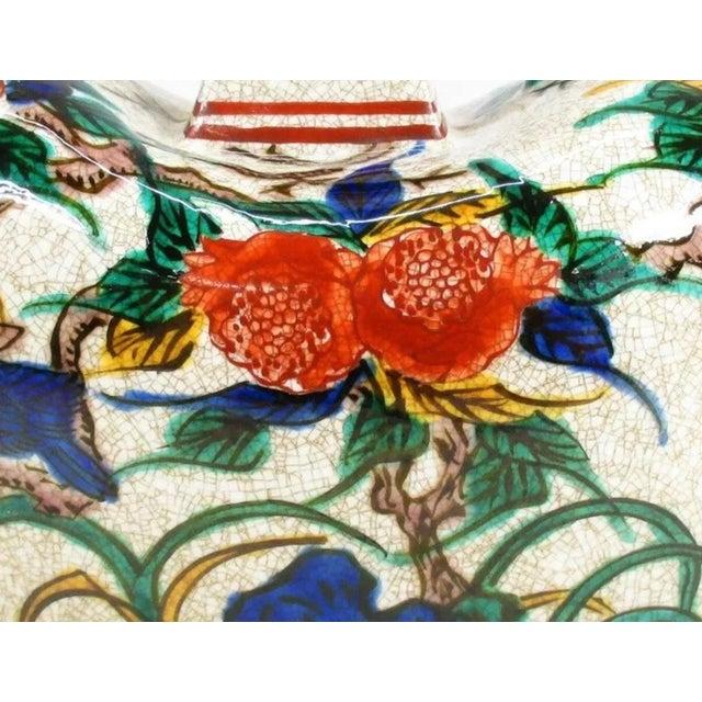 Antique Kutani Floral Vase For Sale - Image 10 of 11