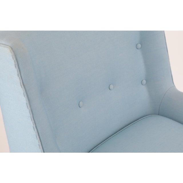 Edward Wormley for Dunbar Swivel Lounge Chair & Ottoman - Image 4 of 5