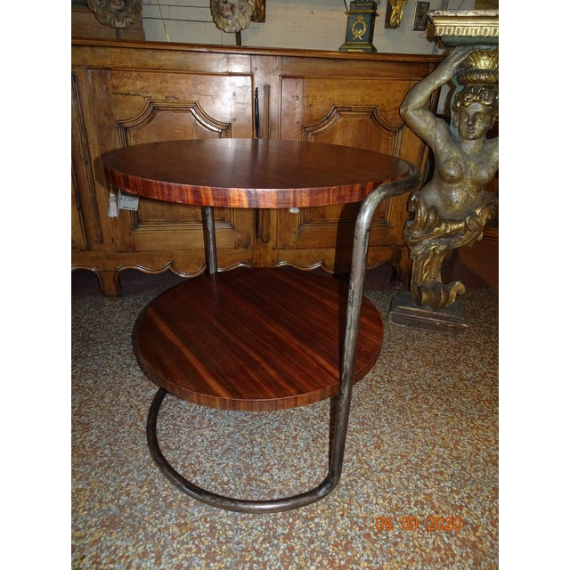 Art Deco French Side Table For Sale - Image 9 of 13