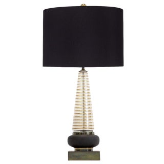 Mid Century Modern Glass Lamp