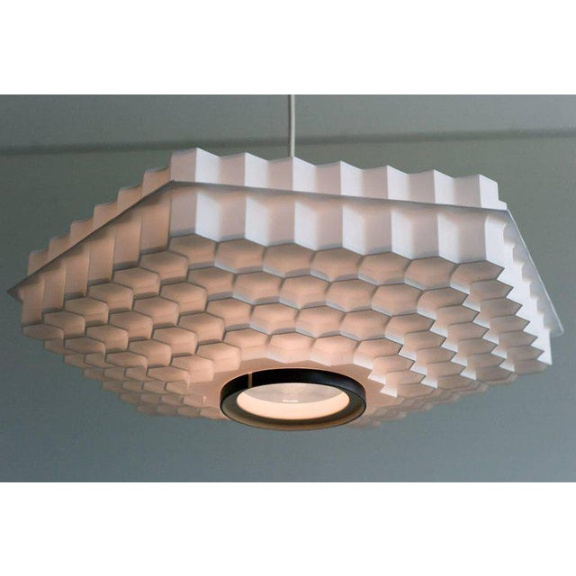 Architectural Honeycomb Pendant For Sale - Image 6 of 6