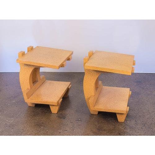 Kevin Walz Cork Side Tables - Image 11 of 11
