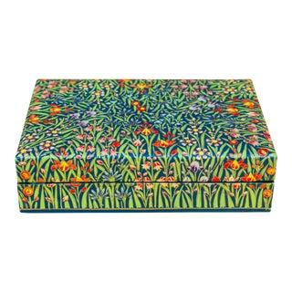 Garden of Flowers Kashmiri Box For Sale
