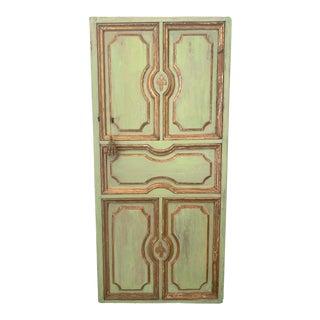 18th Century Italian Painted Door For Sale