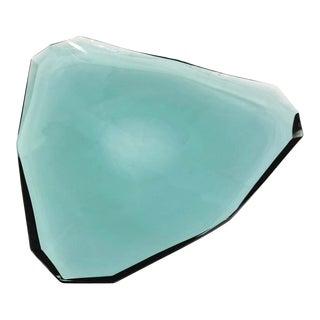 Fontana Arte Glass Centerpiece, Italy, 1960s For Sale