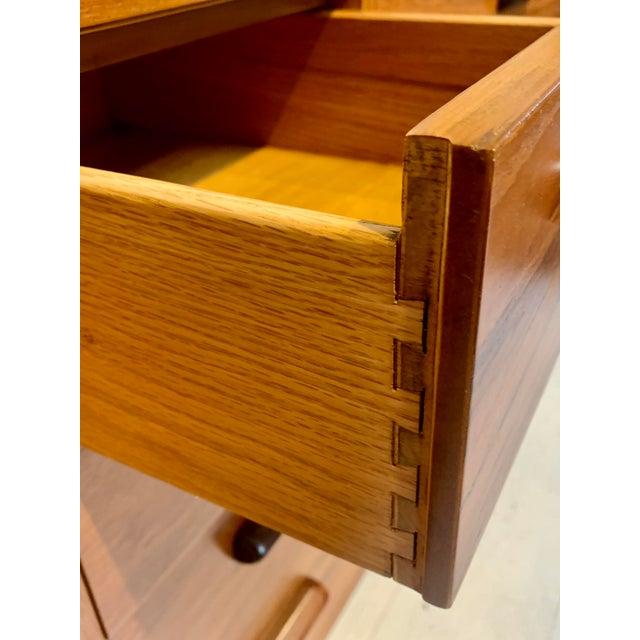 1960s Lane Furniture Mid Century Modern 12-Drawer Dresser For Sale - Image 5 of 8