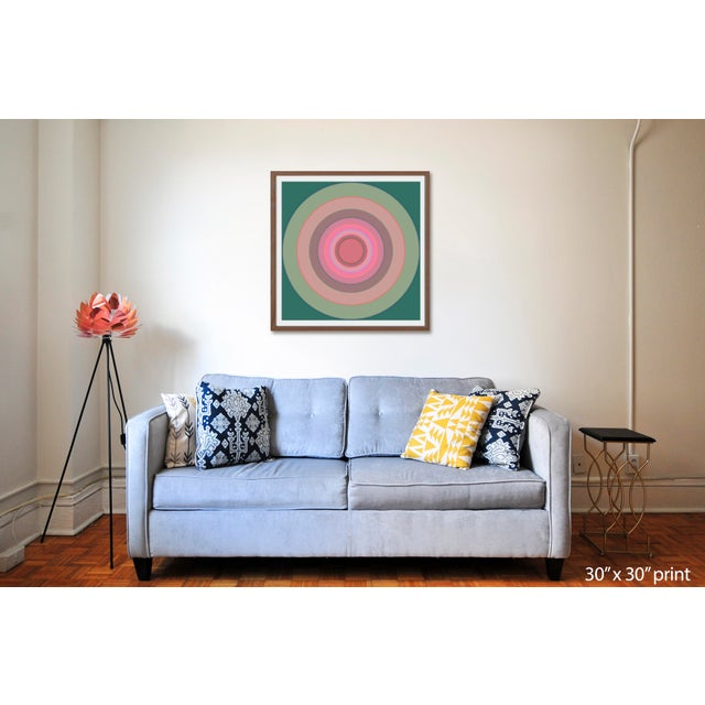 Limited Edition Giclee print by LA based abstract artist Paul Westacott . Signed and numbered in pencil: Edition of 10...