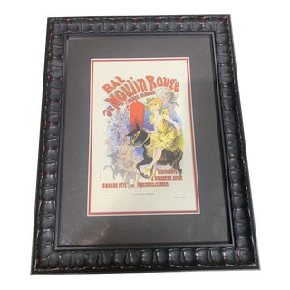 Jules Cheret Moulin Rouge Lithograph For Sale