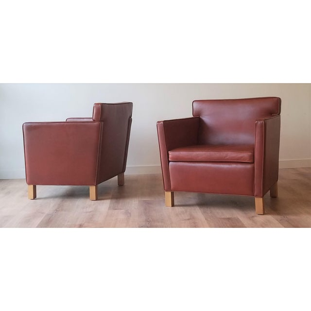 Ludwig Mies Van Der Rhoe Krefled Club Chairs - a Pair For Sale - Image 13 of 13