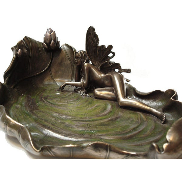 Art Nouveau Pond Leaf - Image 5 of 6