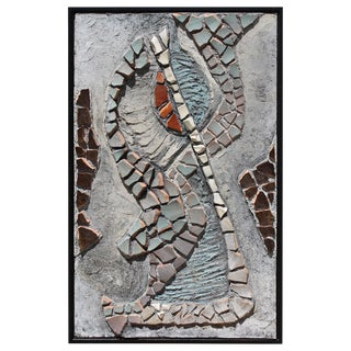 Mosaic Wall Sculpture by Beverly Lacy Taylor, 1959 For Sale