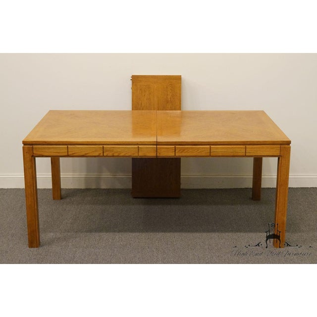 "Wood Thomasville Furniture New Country Collection 84"" Dining Table For Sale - Image 7 of 13"