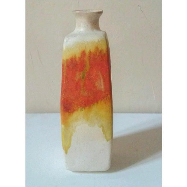 Circa 1950 Marcello Fantoni Squared Vase For Sale In Richmond - Image 6 of 7