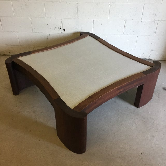 Mid Century Modern Walnut Coffee Table For Sale - Image 13 of 13