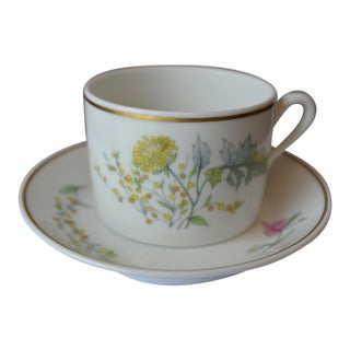 Richard Ginori Cup & Saucer - a Pair For Sale
