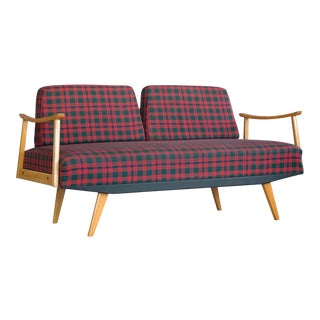 Walter Knoll Attributed Mid-Century Daybed Sofa