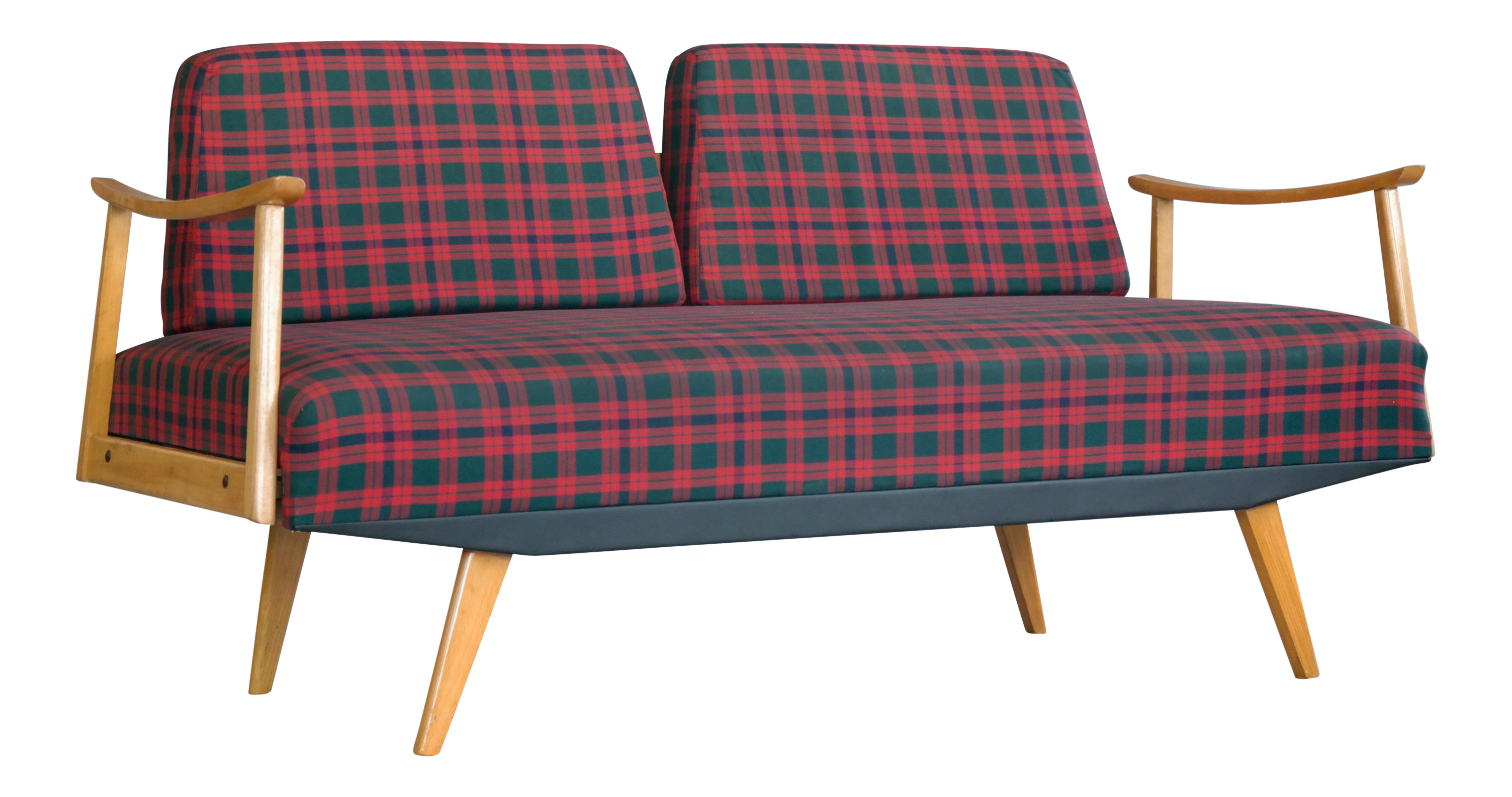 Walter Knoll Attributed Mid Century Daybed Sofa
