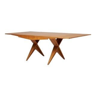 Dan Johnson Drop Leaf Dining Table For Sale