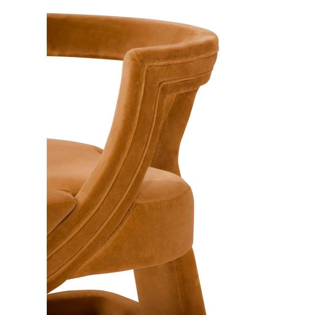 Textile Covet Paris Batak Bold Armchair For Sale - Image 7 of 10