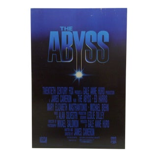 """The Abyss"" Movie Poster For Sale"