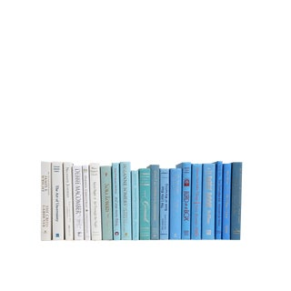Ombre Ocean of Modern Mini's Book Set, S/20 For Sale